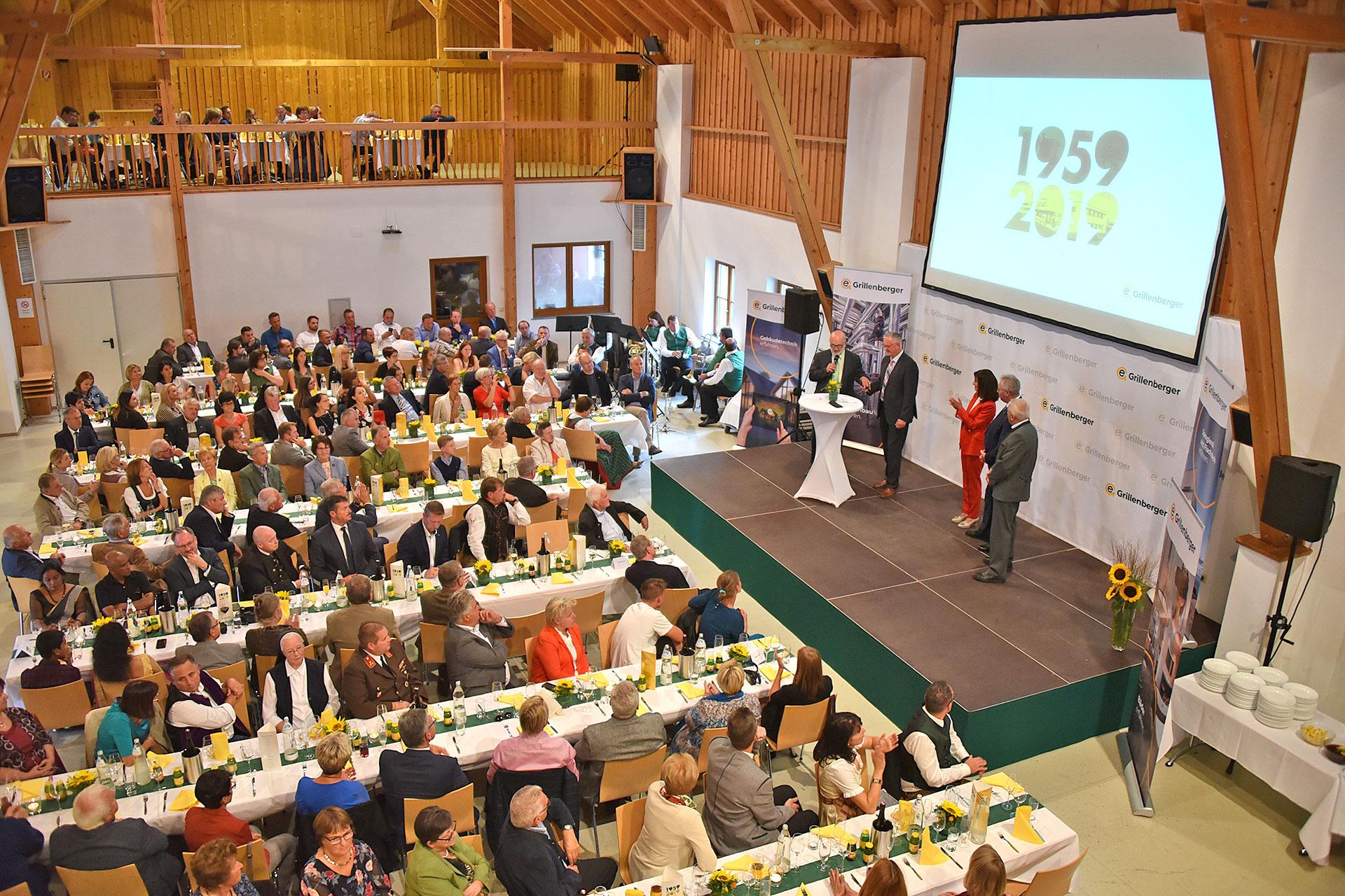60 Jahre Firma Grillenberger